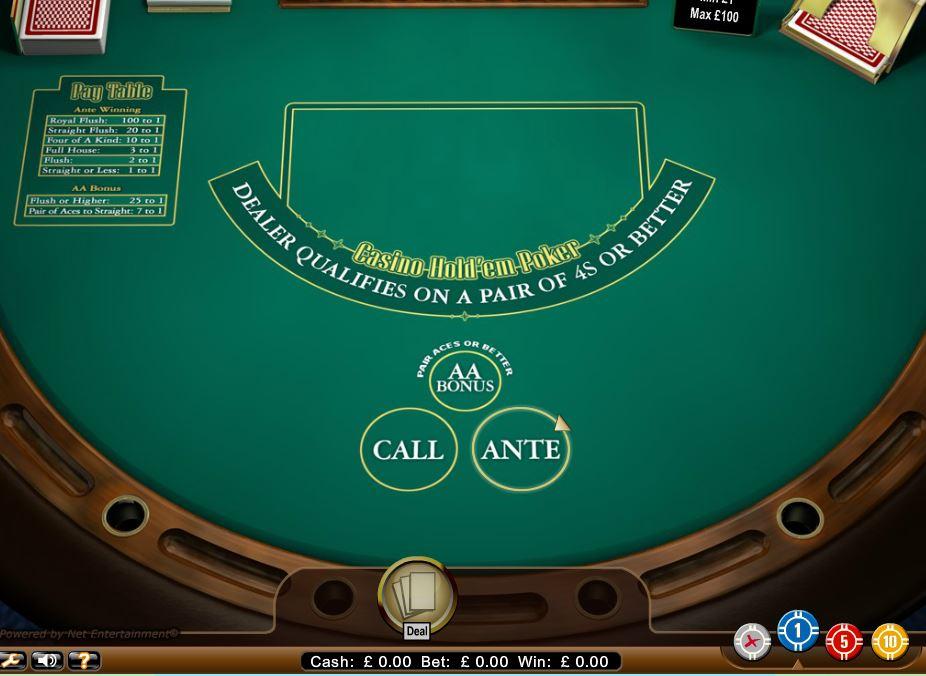 Blackjack Hold Em