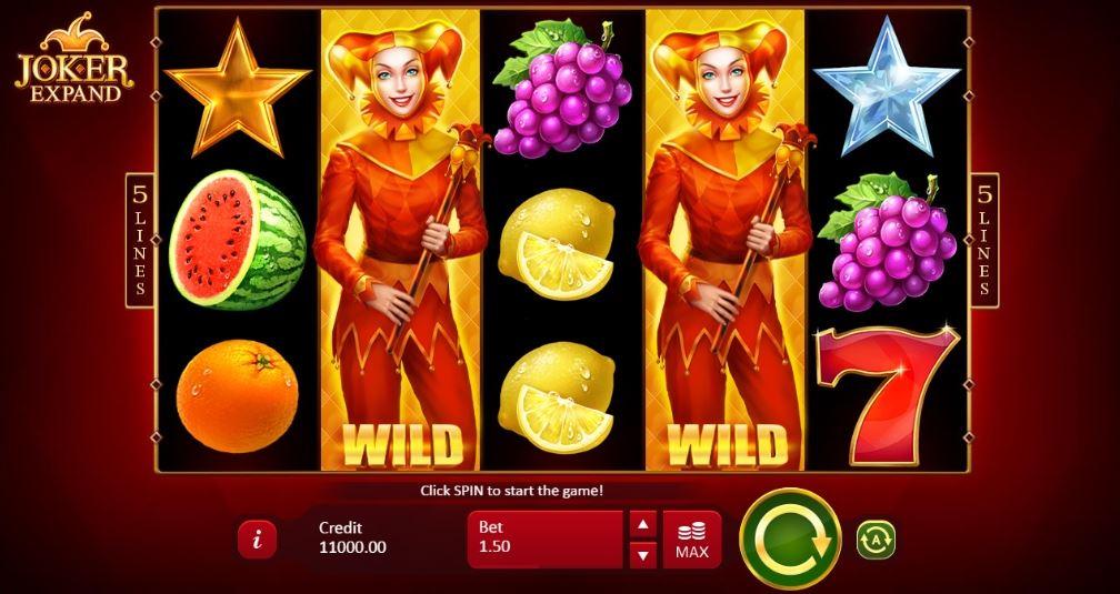 Joker Expanded slot game