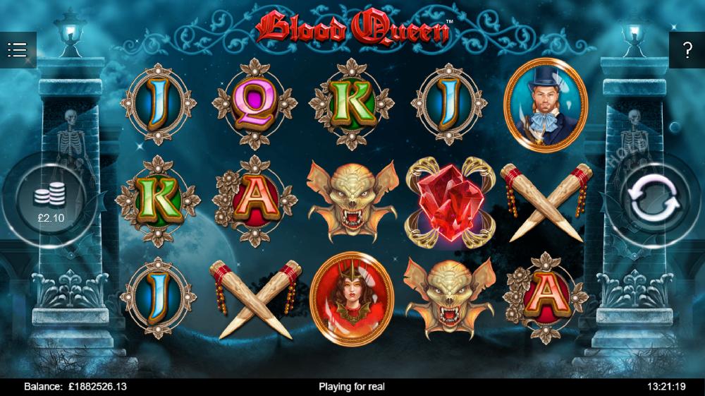 Play online blood queen iron dog casino slots lar?deluxe