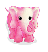 Fluffy Favourites Elephant